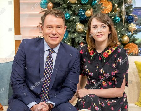 Richard Arnold and Charlotte Ritchie