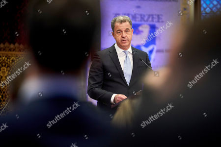 ICTY Prosecutor Serge Brammertz speaks during the closing ceremony of the International Criminal Tribunal for the former Yugoslavia (ICTY) at the historic Knights Hall in The Hague . After nearly a quarter century of prosecuting Balkan wars atrocities, the United Nations' Yugoslav war crimes tribunal is closing down with no fugitives left on the run