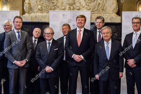 Willem Alexander, Antonio Guterres, Halbe Zijlstra
