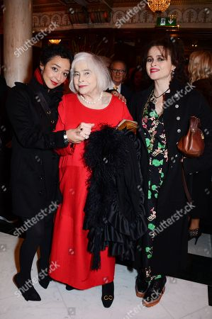 Ruth Negga, Elena Propper de Callejon and Helena Bonham Carter