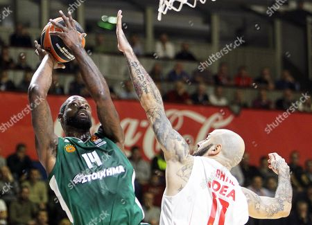 Stock Picture of James Gist and Pero Antic