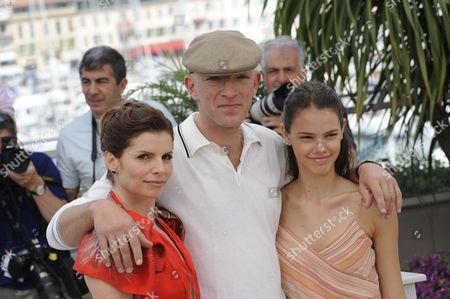 Debora Bloch, Vincent Cassel, Laura Neiva