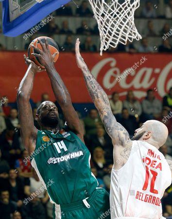 Editorial photo of Euroleague Basketball, Belgrade, Serbia - 21 Dec 2017
