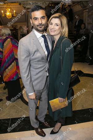 Christian Contreras and Jodie Whittaker