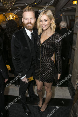James Midgley and Jenni Falconer