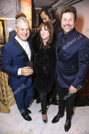 Cameron Mackintosh (Producer), Cathy McGowan and Michael Ball