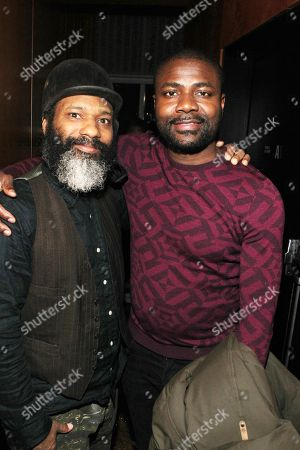 Stock Picture of Derick Prosper and Abiola One