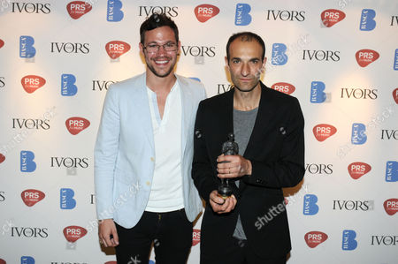 Stock Photo of Will Young with Eg White