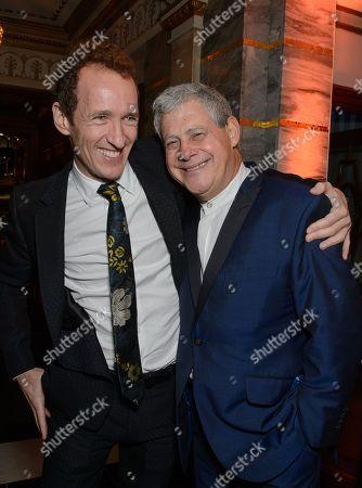 producers Jeffrey Seller and Cameron Mackintosh