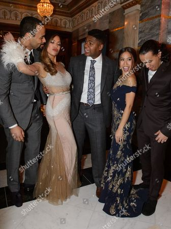 Stock Photo of Obioma Ugoala and Christine Allado, Tarinn Callender, Rachelle Ann Go and Cleve September
