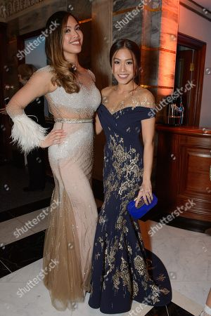 Christine Allado and Rachelle Ann Go