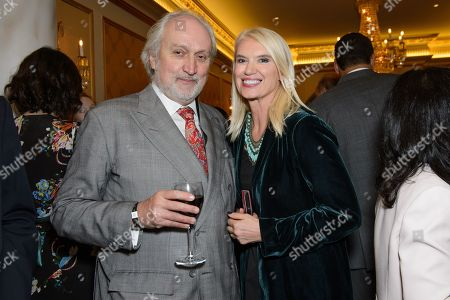 Nick Allott and Anneka Rice