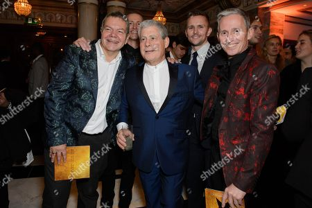 Cameron Mackintosh with George Stiles and Anthony Drewe
