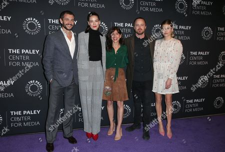 Stock Picture of Hugh Dancy, Michelle Monaghan, Jessica Goldberg, Aaron Paul, Emma Greenwell