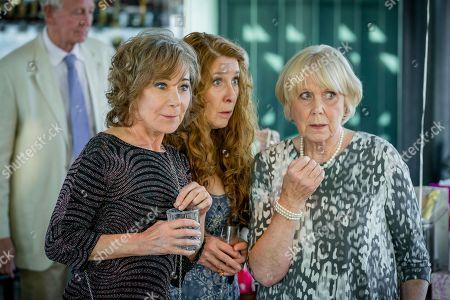 (Ep 2) - Zoe Wanamaker as Gail Stanley, Phyllis Logan as Linda Hutchinson and Wendy Craig as Barbara Thackery