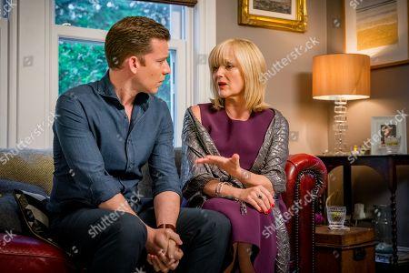 (Ep 2) - Philip Cumbus as Andrew Thackery and Miranda Richardson as Sue Thackery
