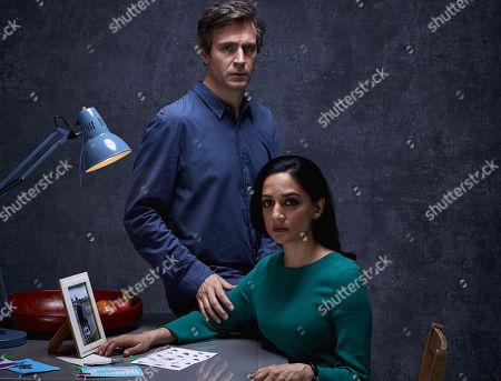 (Ep 1) - Jack Davenport as Guy Harcourt and Archie Panjabi as Mona Shirani