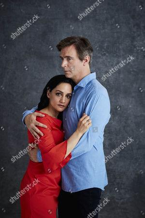 (Ep 1) - Archie Panjabi as Mona Shirani and Jack Davenport as Guy Harcourt
