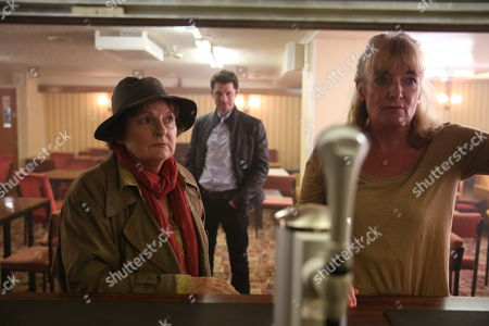 (Ep 1) - Brenda Blethyn as DCI Vera Stanhope and Elizabeth Rider as Eileen Hannings.