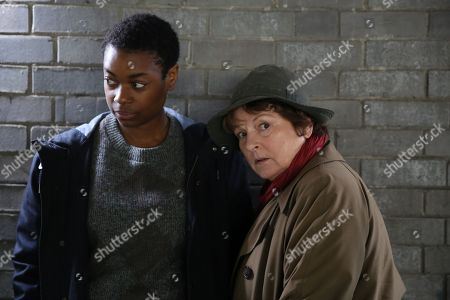 (Ep 1) - Brenda Blethyn as DCI Vera Stanhope and Ibinabo Jack as DC Jacqeline 'Jac' Williams.
