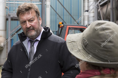 Stock Picture of (Ep 1) - Brenda Blethyn as DCI Vera Stanhope and Ian Burfield as Iain Hobswain.