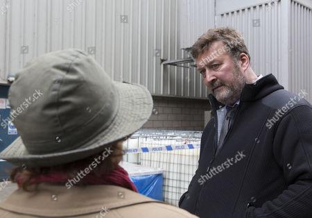 (Ep 1) - Brenda Blethyn as DCI Vera Stanhope and Ian Burfield as Iain Hobswain.