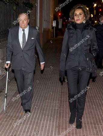 Tomas Terry and Nati Abascal