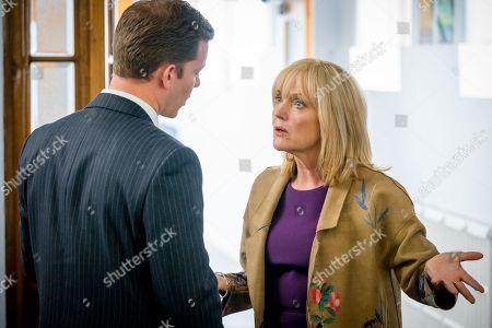 (Ep 3) - Philip Cumbus as Andrew Thackery and Miranda Richardson as Sue Thackery