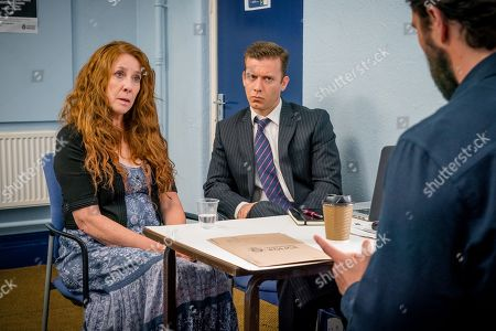 (Ep 3) - Phyllis Logan as Linda Hutchinson and Philip Cumbus as Andrew Thackery
