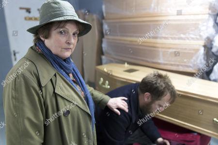 (Ep 2) -  Brenda Blethyn as DCI Vera Stanhope and Sam Troughton as Noel.