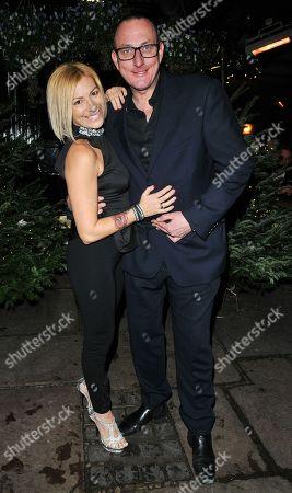 Editorial photo of Piers Morgan Christmas Party, London, UK - 21 Dec 2017