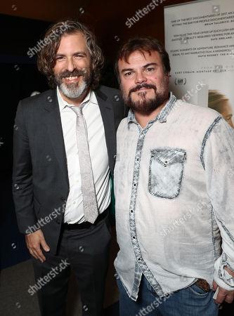 Director Brett Morgen and Jack Black