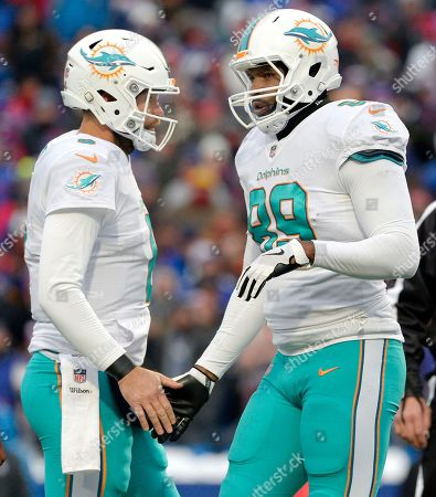 Editorial image of Dolphins Bills Football, Orchard Park, USA - 17 Dec 2017