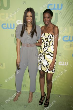 Stock Picture of Tyra Banks and Teyona Anderson