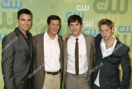 Stock Image of Colin Egglesfield, Thomas Calabro, Michael Rady and Shaun Sipos