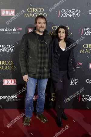 Editorial photo of 'Circo Magico' show opening, Madrid, Spain - 22 Dec 2017