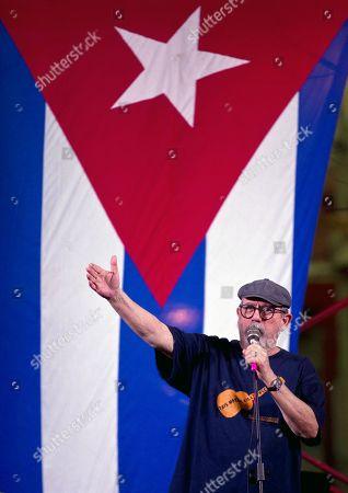 Editorial image of Silvio Rodriguez in concert in Cuba, Havana - 22 Dec 2017