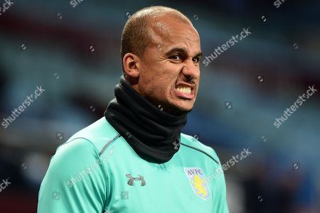 Stock Photo of Aston Villa striker Gabriel Agbonlahor (11) during the EFL Sky Bet Championship match between Aston Villa and Sheffield Utd at Villa Park, Birmingham