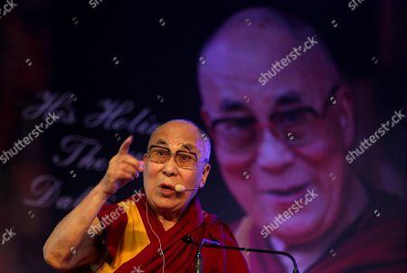 Stock Picture of Dalai Lama and Tenzin Gyatso