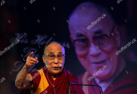 Stock Image of Dalai Lama and Tenzin Gyatso