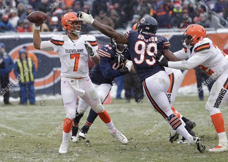 Editorial photo of Browns Bears Football, Chicago, USA - 24 Dec 2017