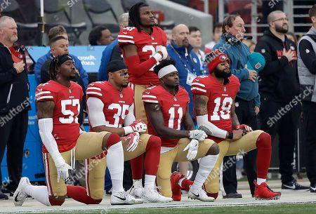 Editorial photo of Jaguars 49ers Football, Santa Clara, USA - 24 Dec 2017