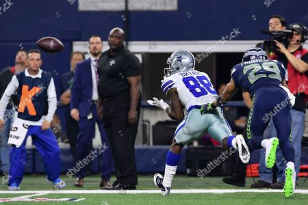 Dallas Cowboys wide receiver Dez Bryant (88) catches a pass during an NFL football game between the Seattle Seahawks and the Dallas Cowboys at AT&T Stadium in Arlington, Texas