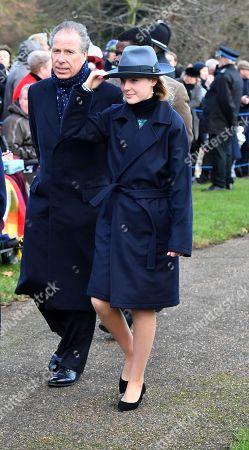 David Armstrong-Jones, 2nd Earl of Snowdon and Lady Margarita Armstrong-Jones