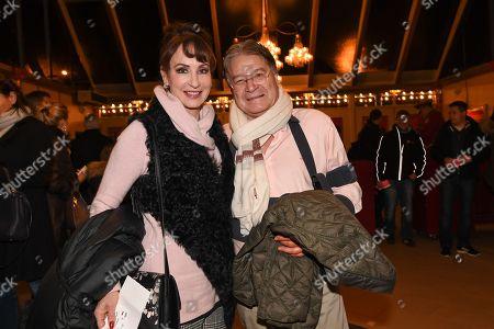 Anna Maria Kaufmann mit partner Eckhard Alt,....