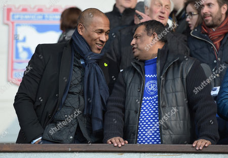 QPR Chairman Tony Fernandes and QPR Director of Football Les Ferdinand