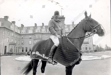 Captain Mark Phillips - Riding - February 1986 Riding.1991.. Mail Writer Sara Barrett Recalls The Time She Took Lessons From The Princess Royal's Husband At Gleneagles Capt Mark Phillips Pictured With Distinctive Outside The Magnificent Gleneagles Hotel.