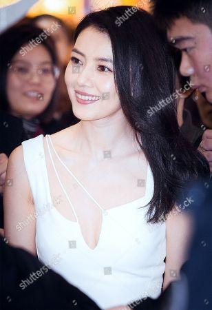 Stock Photo of Gao Yuanyuan