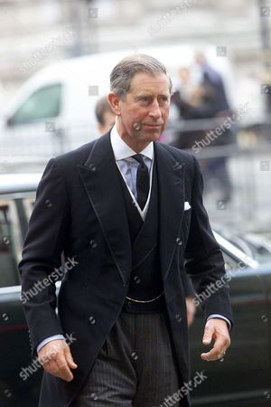 Prince Charles Arrives At The Memorial Service For Entertainer Sir Harry Secombe At Westminster Cathedral October 26 2001. Secombe Is Remembered Fondly In Britain For His Work With The Goons Who Also Comprised Of Peter Sellers Michael Bentine And Spike Milligan. Picture Jeremy Selwyn