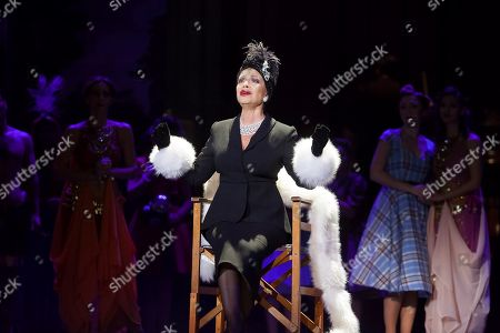 Stock Image of Spanish singer Paloma San Basilio, in the role of Norma Desmond, performs during the dress rehearsal of the musical Sunset Boulevard at the Auditorium of Tenerife in the Canary islands, Spain, 26 December 2017 (issued 27 December). The musical will be premiered from 27 December to 04 January 2018.
